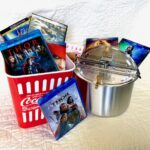 Movie night with popcorn maker. Captain Marvel, Mary Poppins Returns, Thor, Thor the Dark World, Aladdin, Rogue One, Avengers age of Ultron. Approx$130