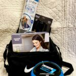 Work Your Body w/ 15 pound Kettel Bell, 9' Speed Rope, Yoga mat, Gym Bag and relaxing Shoulder Wrap. Approx $150